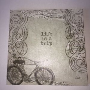 LIFE IS A TRIP- Canvas Picture/Wall Deco